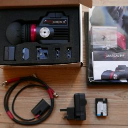 Zacuto Gratical HD OLED Viewfinder immaculate - full boxed kit with extras and less than a day's use