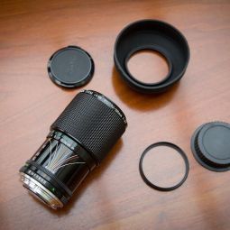 Canon 50-135mm f/3.5 Zoom lens FD (converted to EF)