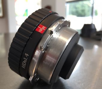 I/BE Optics IBE HDX1.4 Lens Adapter B4 to PL  Mount  Sony F55 F5 Arri Alexa
