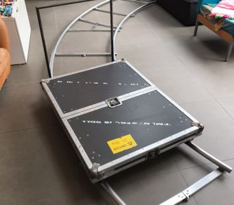 Egripment Suitcase / Focus Dolly and Aluminium Folding Track